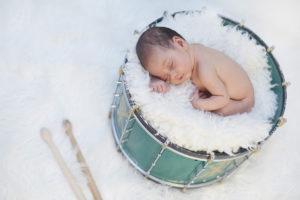 Fotografía moderna e impactante en el mundo del bebé