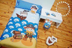 Complementos textiles y Diseño Gráfico en el mundo infantil